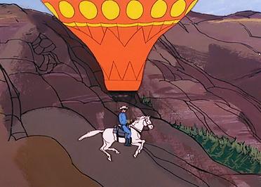 Der Lone Ranger - Das fliegende Pferd